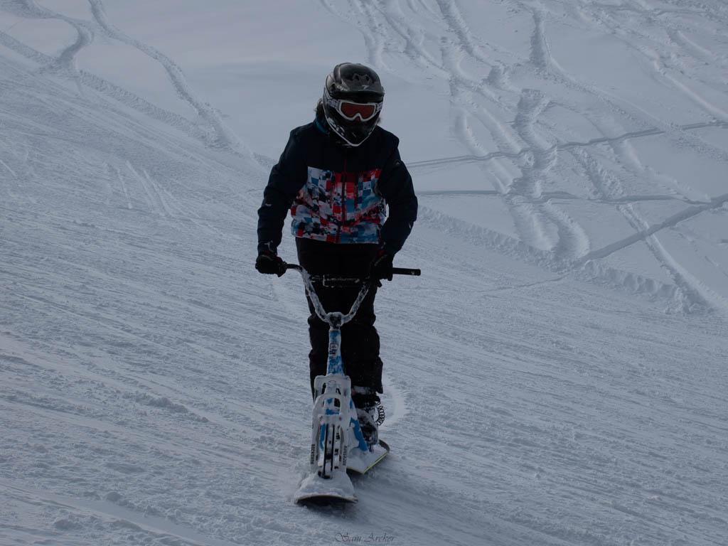 2020/01 - Compte-rendu Entrainement SnowScoot - Savoie (73). Ski_3710