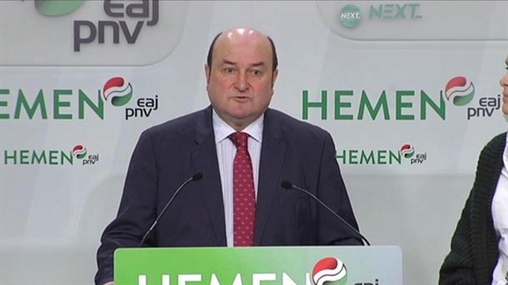 Rueda De Prensa - Convocatoria Asamblea Nacional PNV - EAJ 20200112