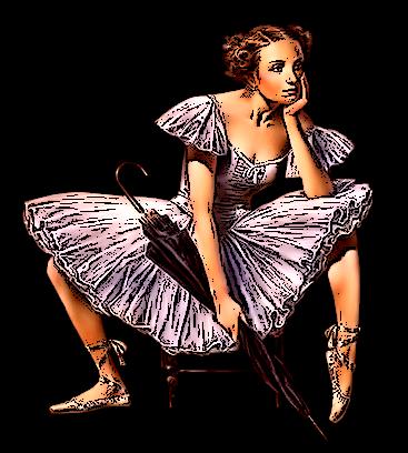 "N° 74 EXERCICES ""Contours Encrés "" Ballet10"