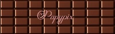 """N° 64 PFS collage spécial - assembler le collage """" Le chocolat """" Tablet12"""