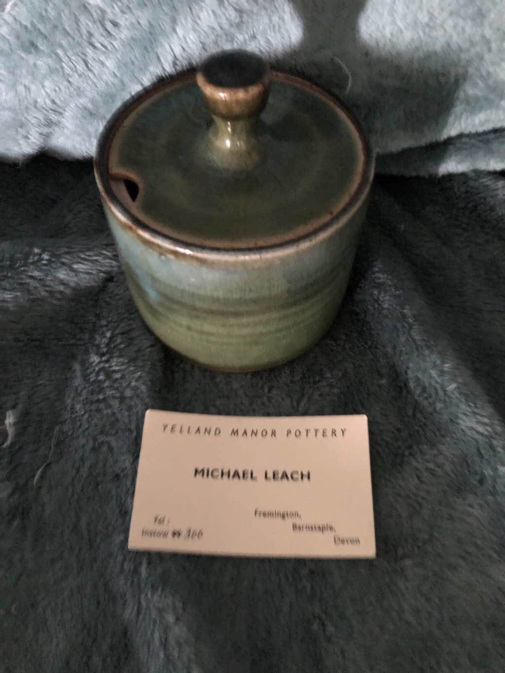 Just wondered the age of this lovely Michael Leach Lidded pot 8fe56a10