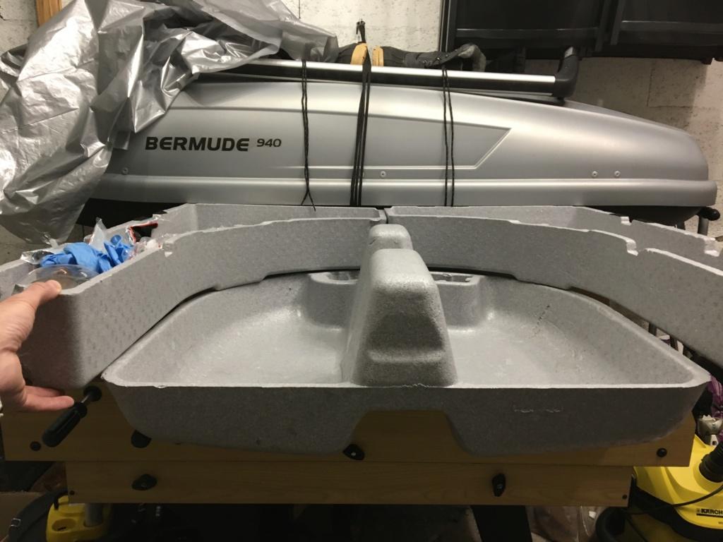 Aménagement coffre compartiment roue de secours 1a10