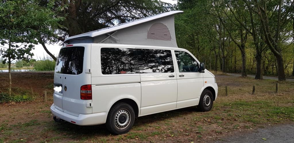 Van VW T5 camper DIPA style california 20190814