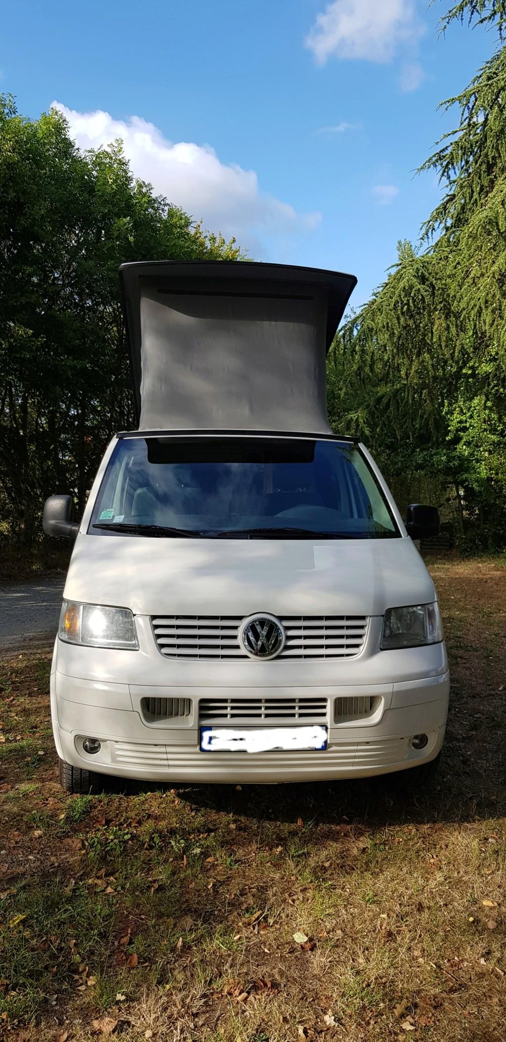 Van VW T5 camper DIPA style california 20190815