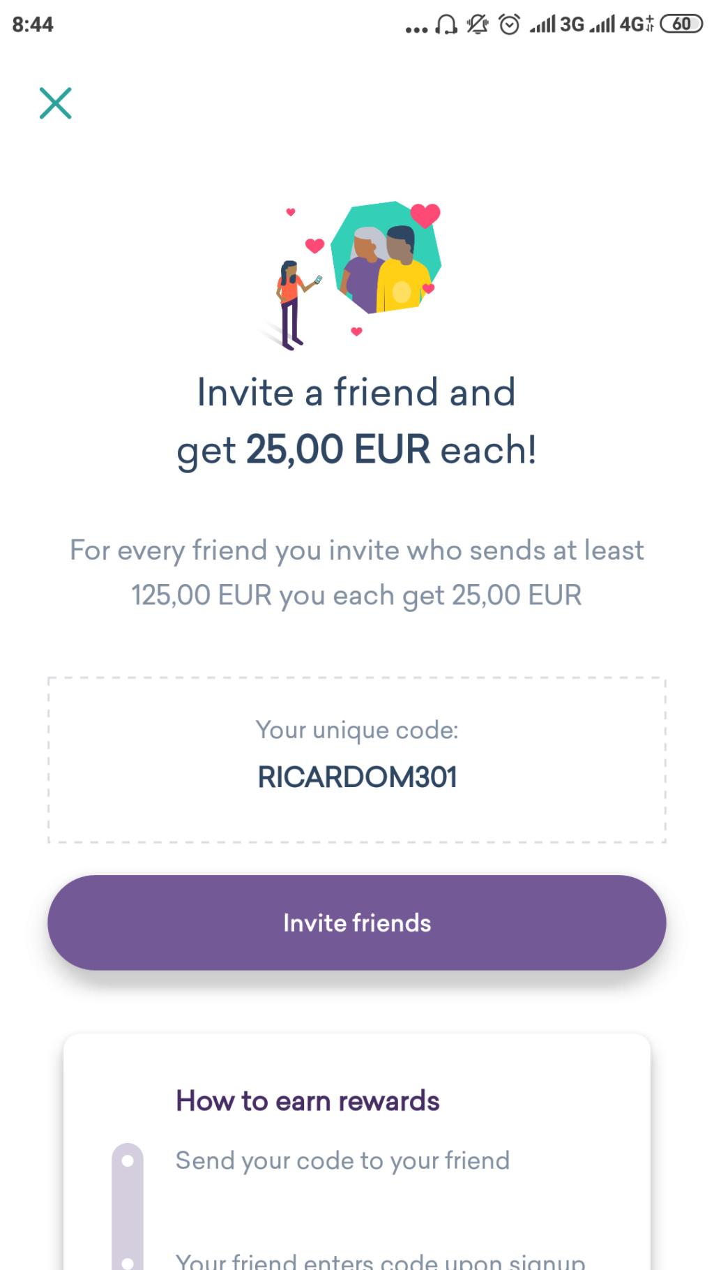 OPORTUNIDADE - [PROVADO] Ganha 25 € WorldRemit - Página 2 Screen23