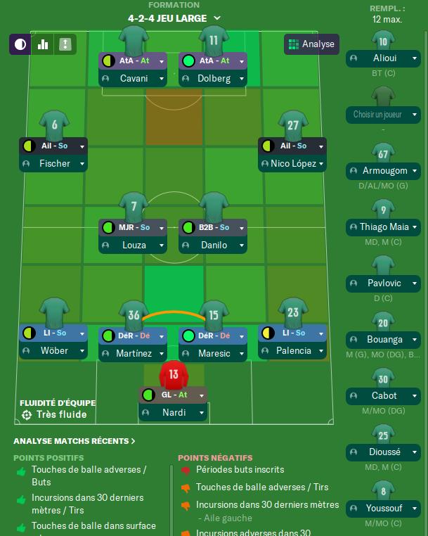 Premier matchs amicaux  16 Juillet  avant Mardi 12h Compo27