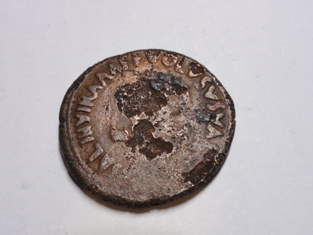 As de Augusto. VOLVSVS VALER MESSAL III VIR A A A F F alrededor de S C. Roma. Dsc06122