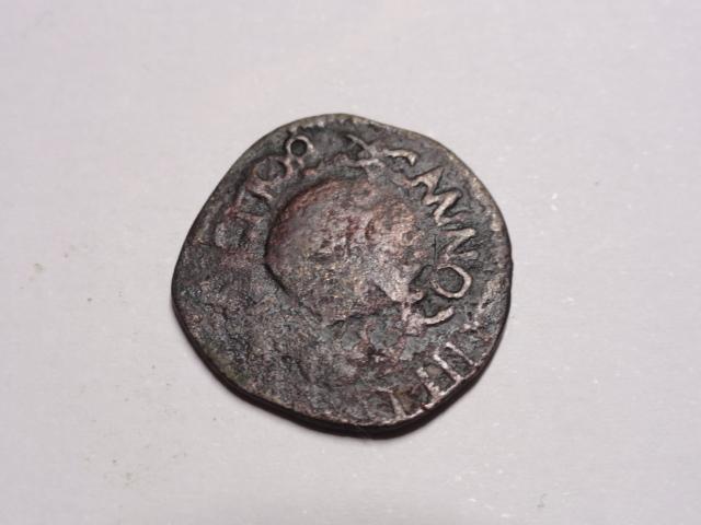 Ardite de Carlos III el pretendiente de Barcelona, 1708. Dsc06139