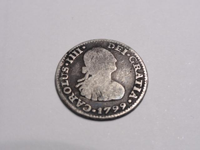 1/2 real 1799. Carlos IV. Méjico. Agradecería ayuda  Dsc06310