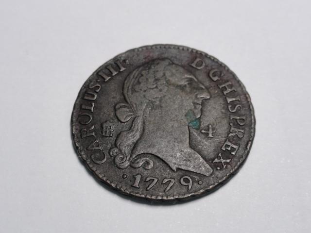 4 maravedís de Carlos III de 1779. Dsc06315