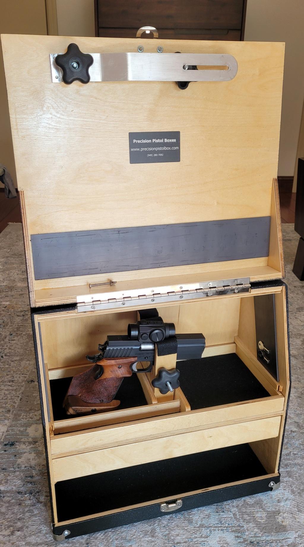 Sold: Precision Pistol Box - 3 Gun Deluxe Mint - $275 20210511