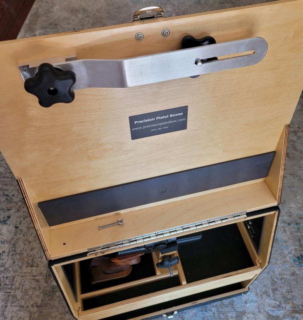 Sold: Precision Pistol Box - 3 Gun Deluxe Mint - $275 20210515