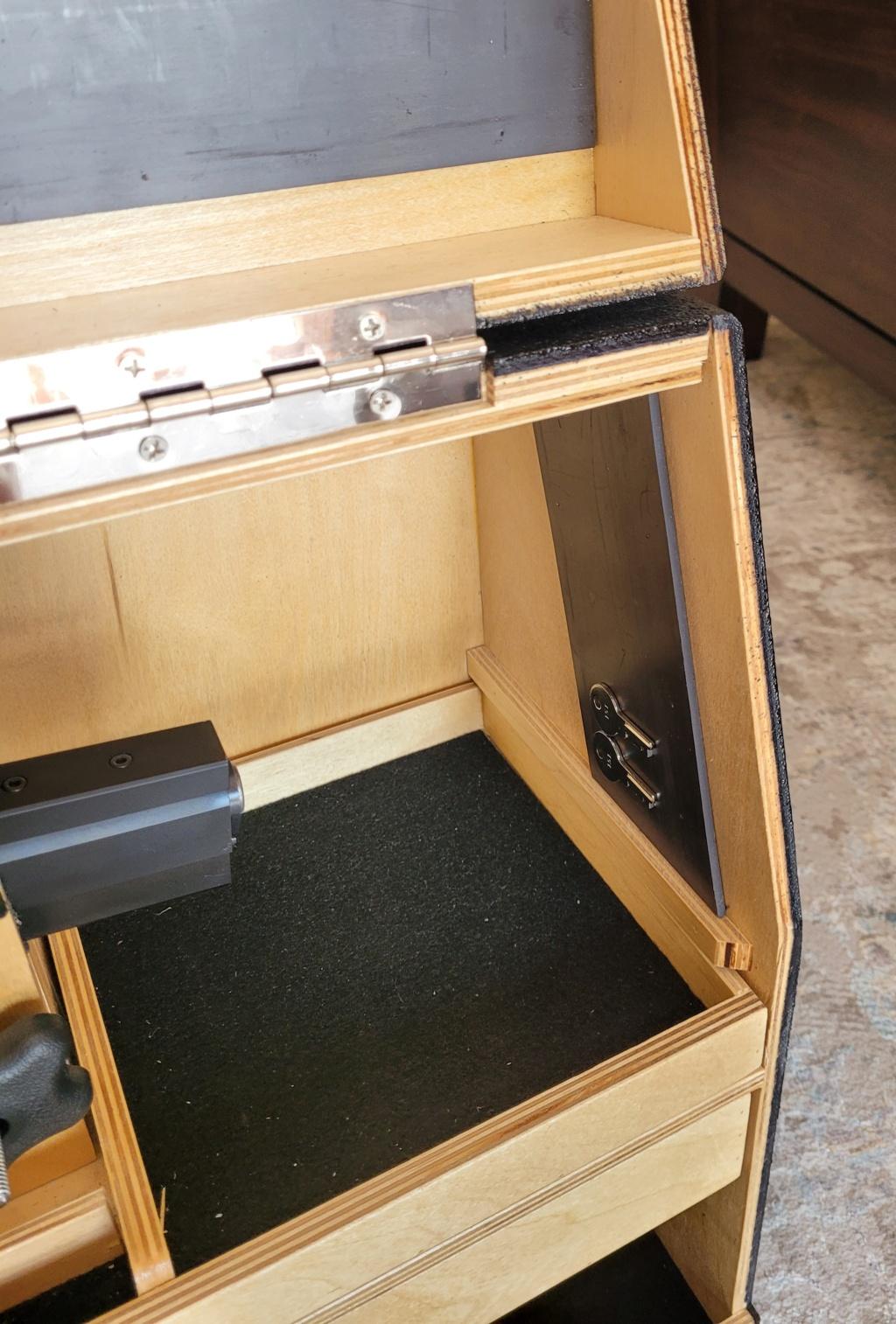 Sold: Precision Pistol Box - 3 Gun Deluxe Mint - $275 20210516