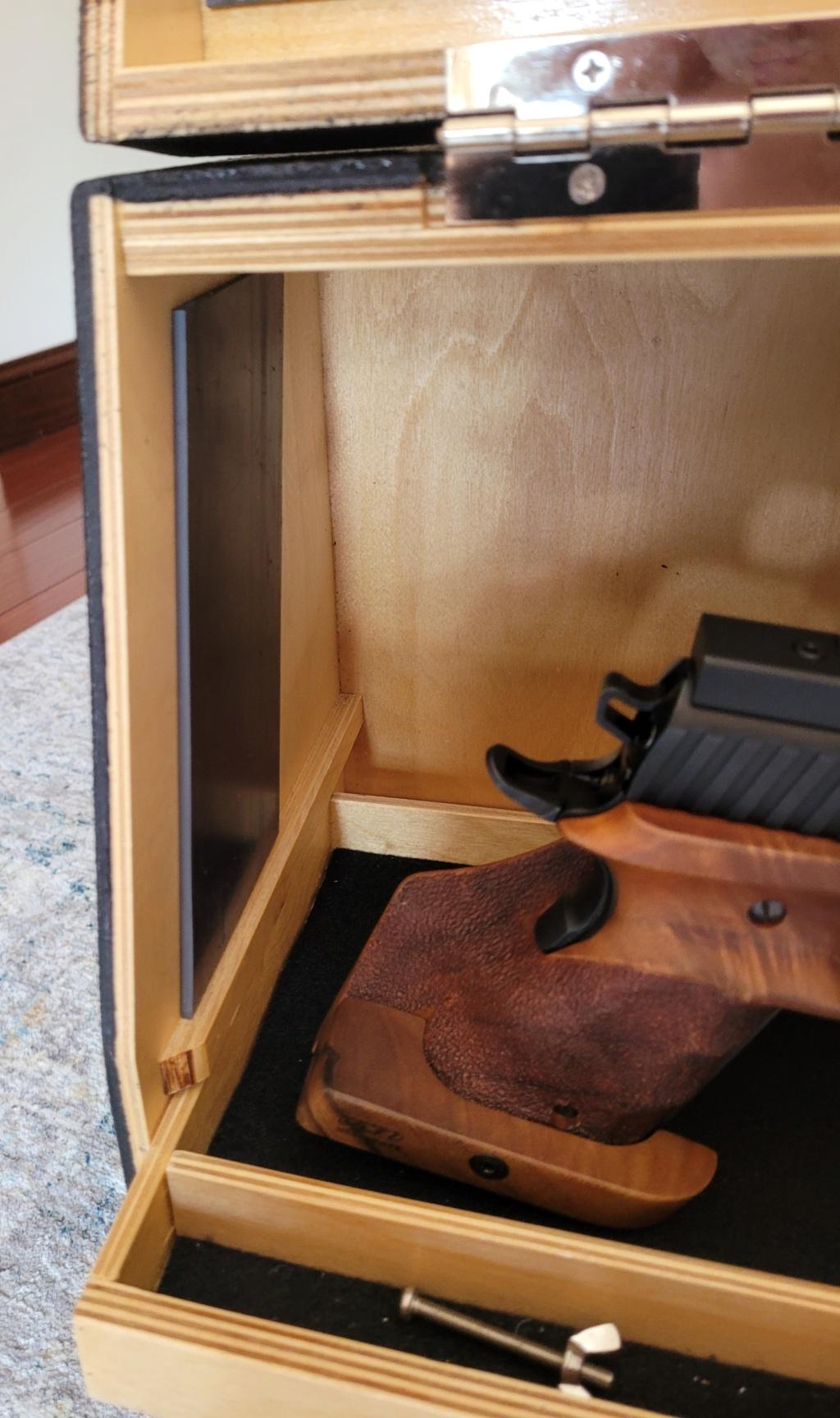 Sold: Precision Pistol Box - 3 Gun Deluxe Mint - $275 20210517