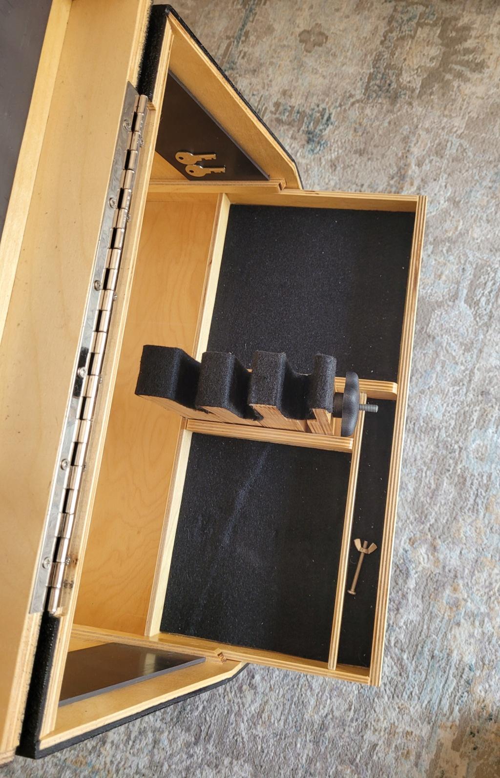 Sold: Precision Pistol Box - 3 Gun Deluxe Mint - $275 20210518