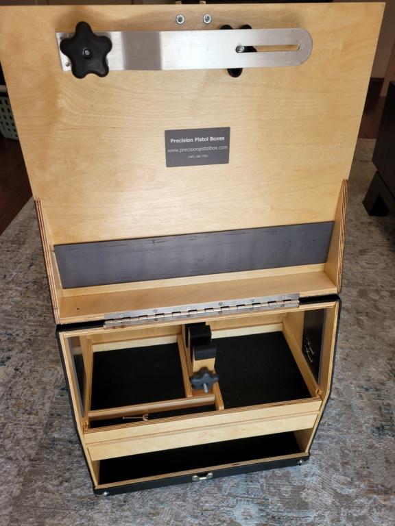 Sold: Precision Pistol Box - 3 Gun Deluxe Mint - $275 20210519
