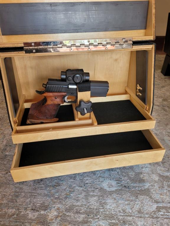 Sold: Precision Pistol Box - 3 Gun Deluxe Mint - $275 20210520