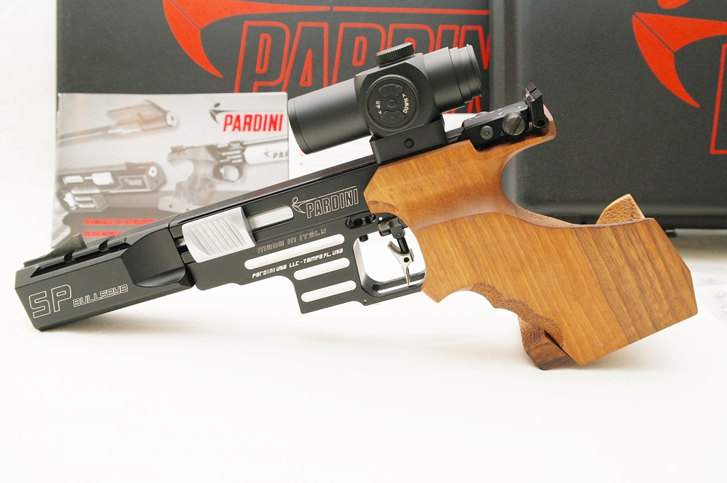 SOLD - Pardini SP Bullseye Like New - 5 and 6 inch barrels, Ultradot, 13 magazines 310
