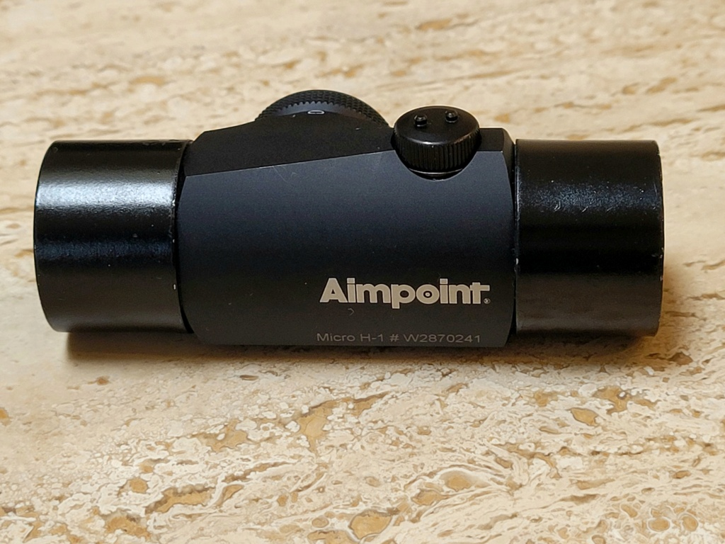 SOLD- Aimpoint H-1 with shades Ap110