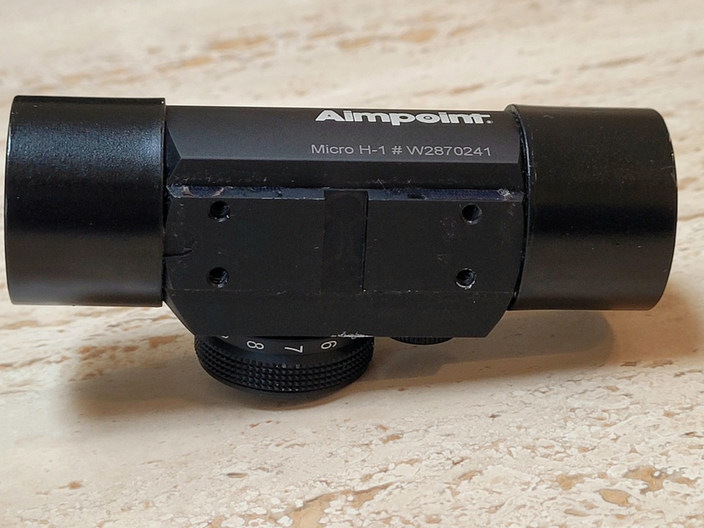 SOLD- Aimpoint H-1 with shades Ap310