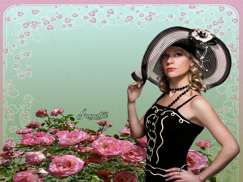 Défi du 5-6 Novembre / Femme au chapeau Sans_t12