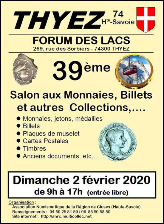 THYEZ (74) - Salon aux Monnaies, billets - 2 février 2020 03-thy12