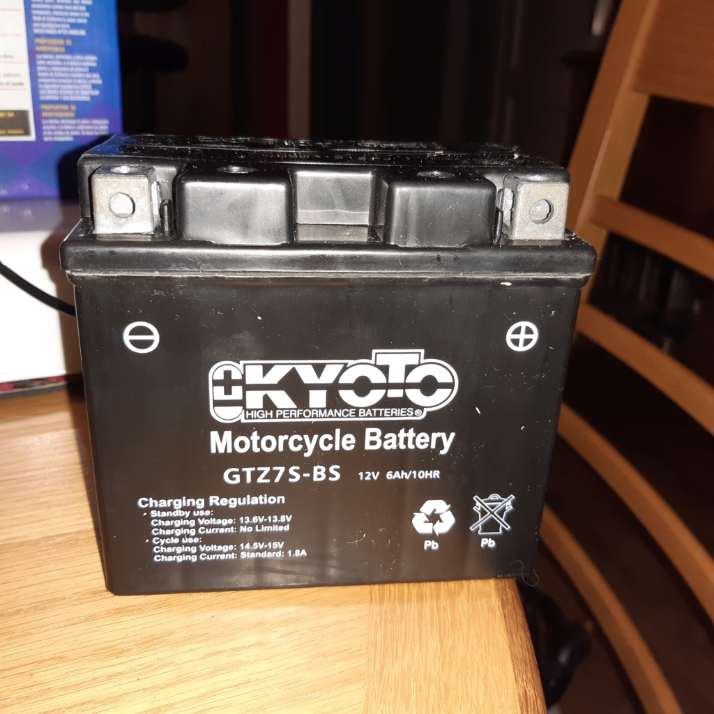 Zontes 125 F Batterie 20191212
