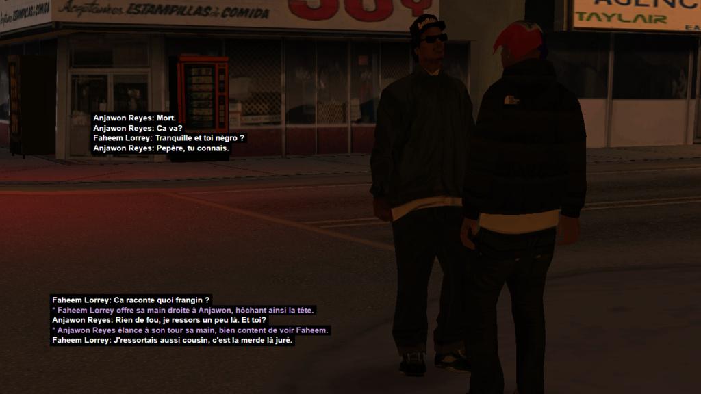 (PED) (GANG) Grove Street Mafia Crips F111