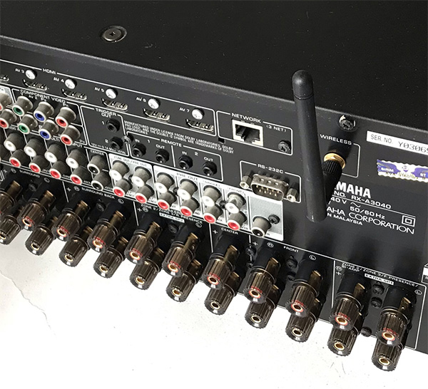 USED YAMAHA RX-A3040 AV RECEIVER 9.1 Channel For Sale 710