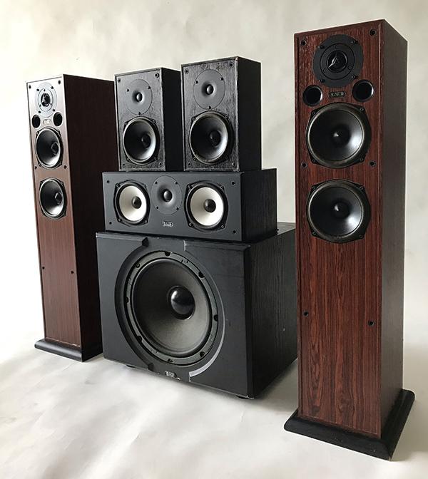 Used Acoustic Energy 5.1 Series 100 Speakers Img_3616