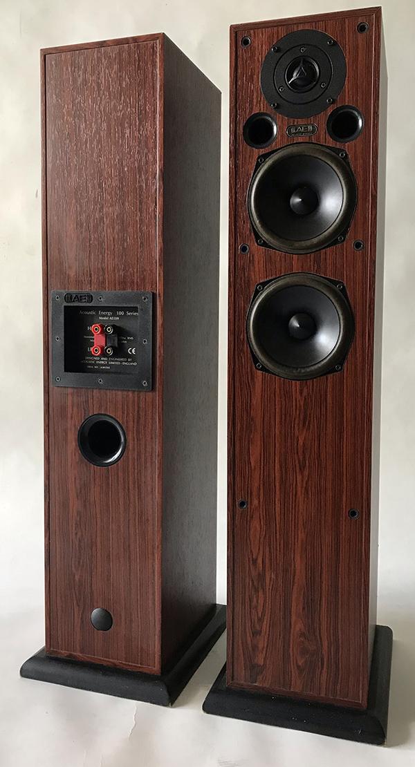 Used Acoustic Energy 5.1 Series 100 Speakers Img_3621