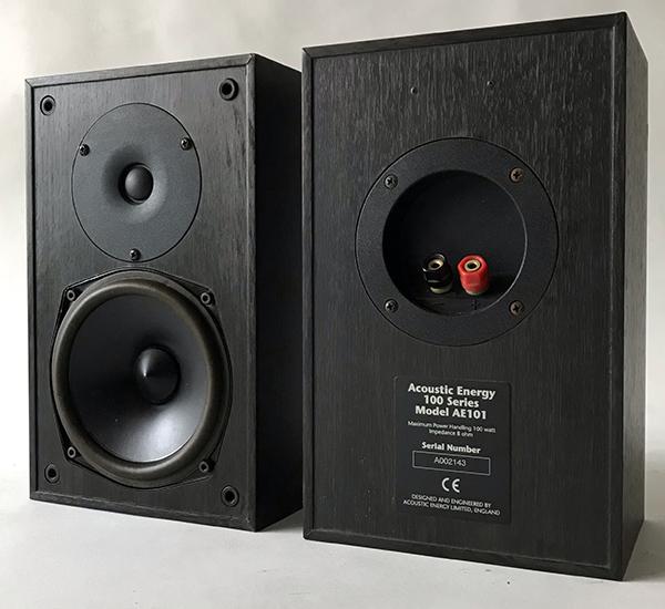 Used Acoustic Energy 5.1 Series 100 Speakers Img_3629