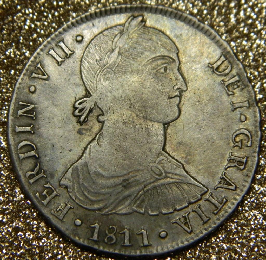 8 Reales 1811. Fernando VII. Lima (Busto Indígena) 10h2as10