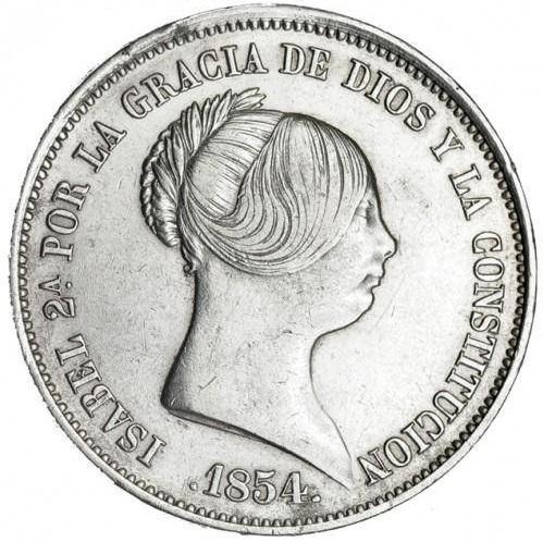 20 Reales Isabel II 1854 Madrid 110