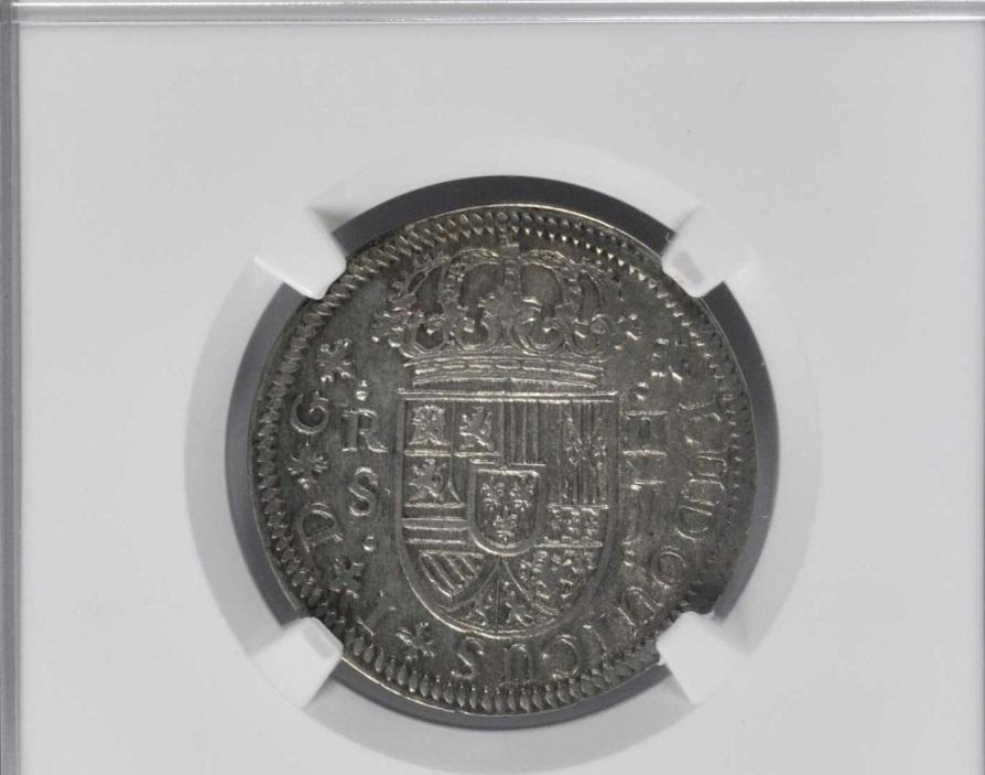 2 reales de Luis I, Sevilla. 1724. 11110