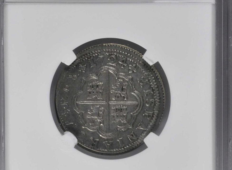 2 reales de Luis I, Sevilla. 1724. 21110
