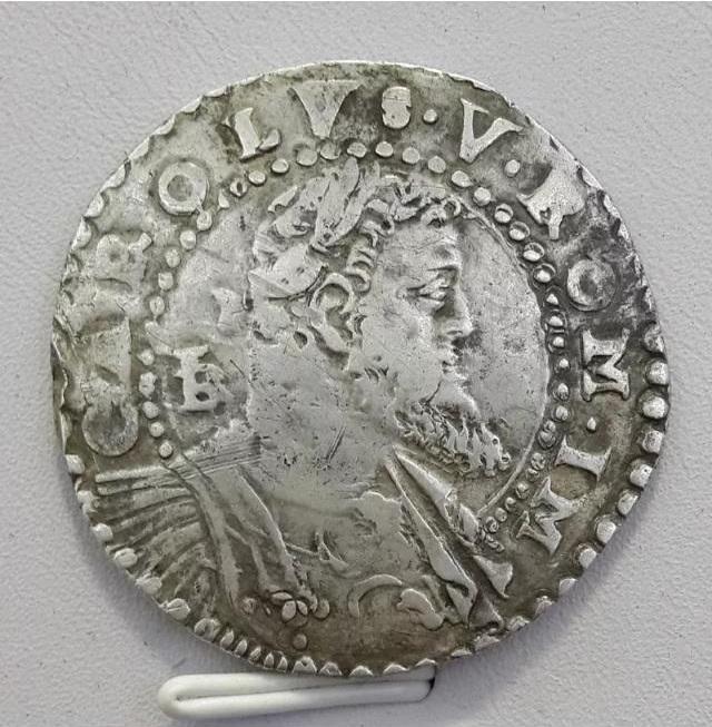 Carlos I (1516-1556). 1/2 ducado. Nápoles 90965510