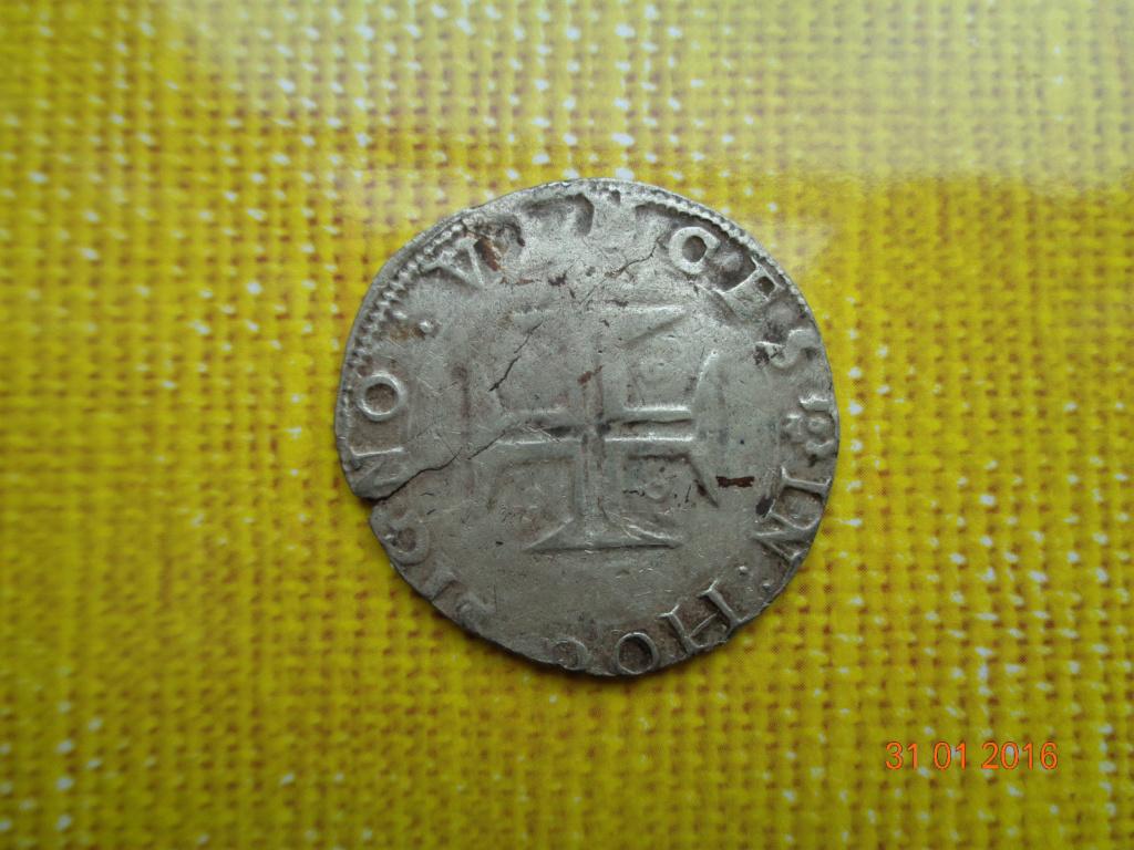 Tostao. Sebastián I (1554-1578). Portugal  _5810
