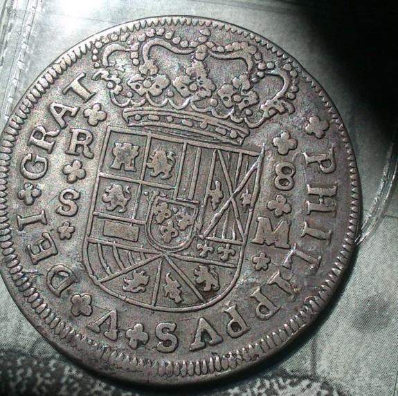 real de a 8 de Felipe V ceca de  Sevilla 1718 Dsc_0017