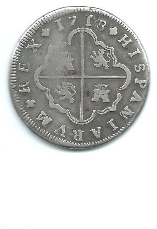 real de a 8 de Felipe V ceca de  Sevilla 1718 Image10