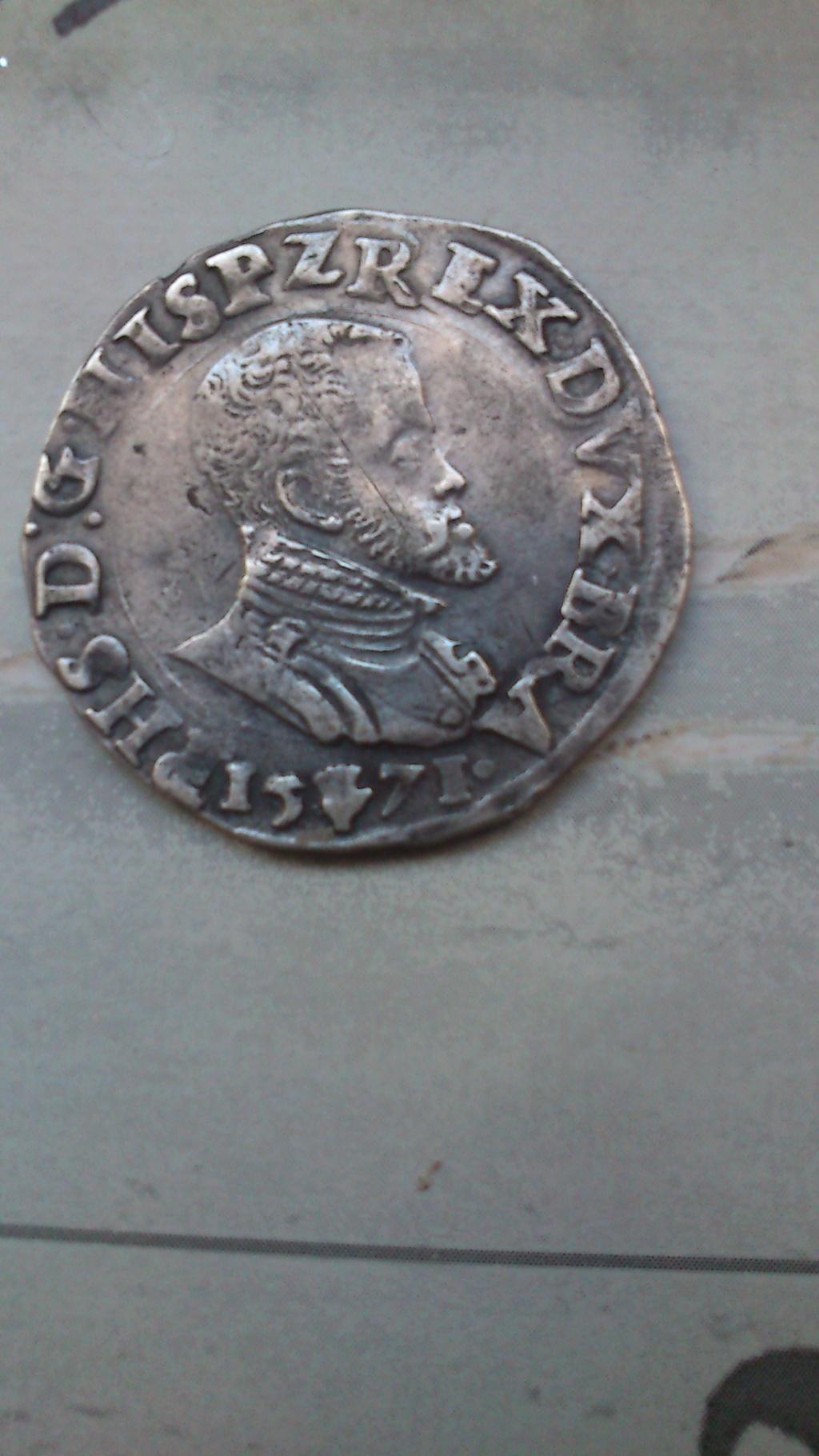 1/5 de Escudo - Felipe II - Amberes Img-2011