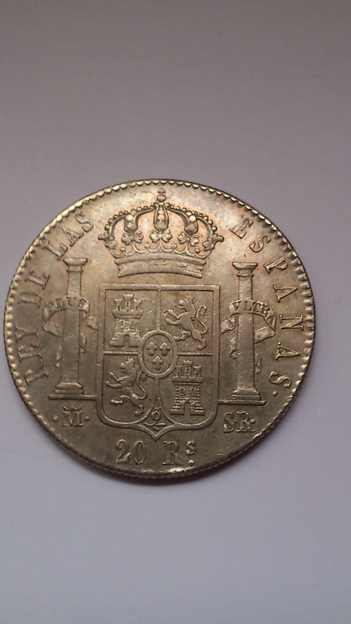 20 reales 1823. Fernando VII. Madrid Photo-11