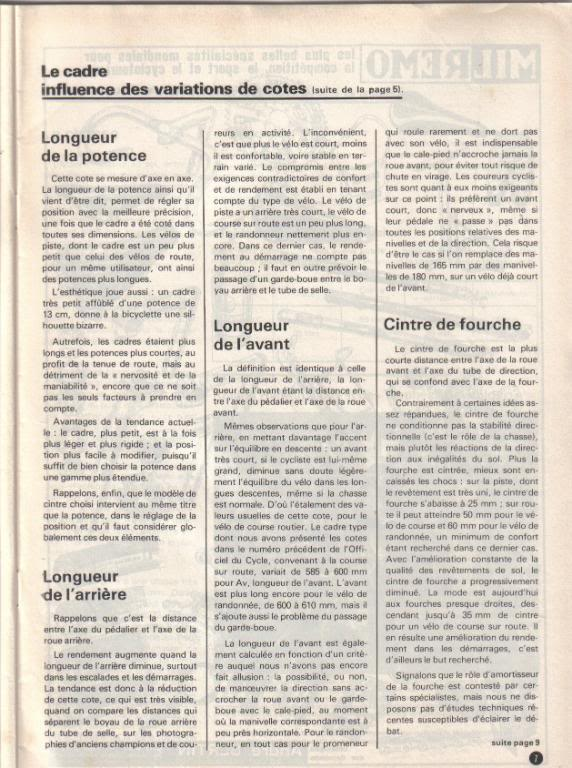 Position selle-guidon trop grande? - Page 3 Cadre310