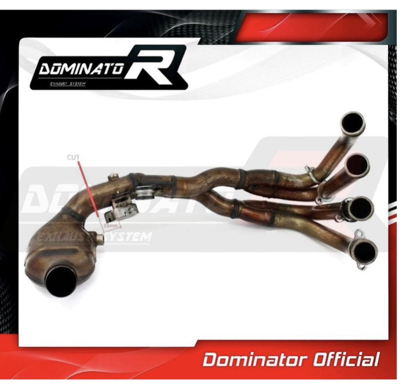 Suppression valve échappement CBR600RR 2007 244e9110