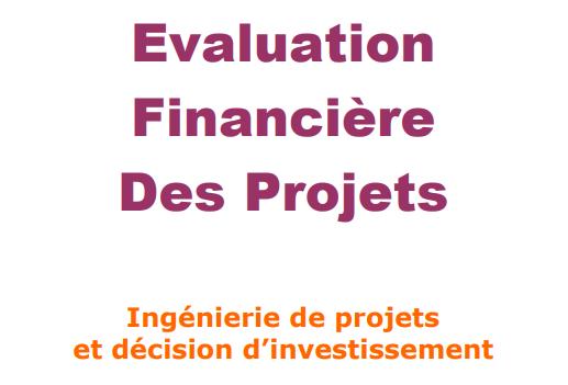 Analyse Et Evaluation Financière Des Projets, Evalua10