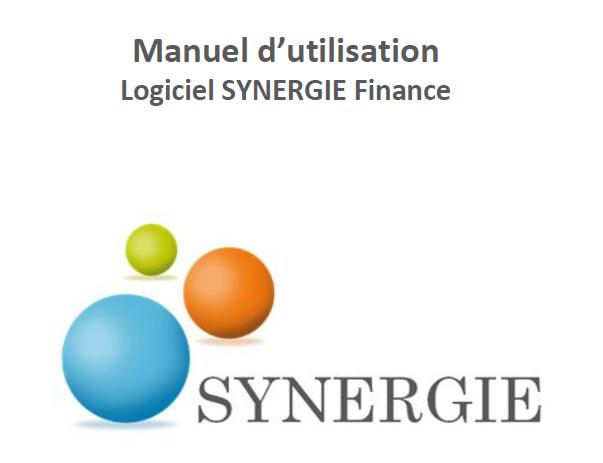 Logiciel SYNERGIE Finance : Manuel d'utilisation  Synerg10
