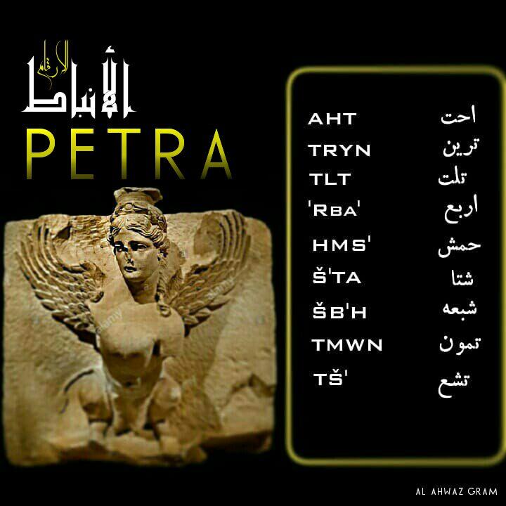 العرب القدماء : الأرقام بالنبطية Img_2048