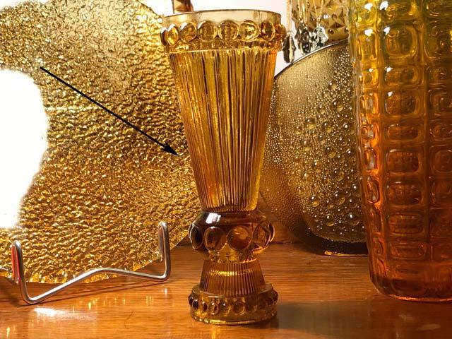 Vase / candleholder / press glass Img_8211
