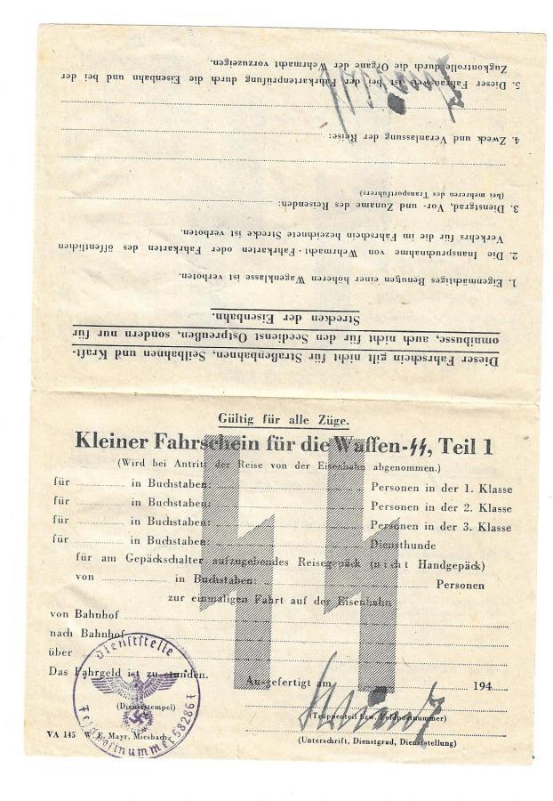 papier  12. SS Div. HJ Fahr111