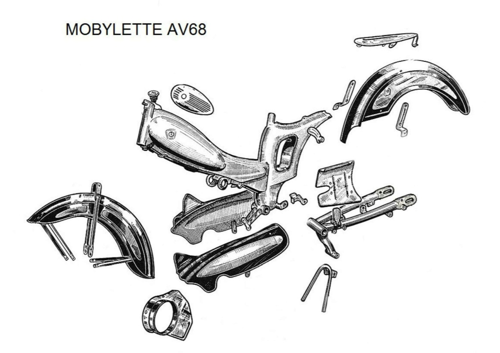 Mobylette AV68 de 1962 A000311